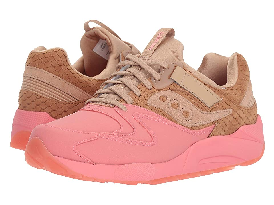 Saucony Originals Grid 9000 HT (Tan/Pink) Men
