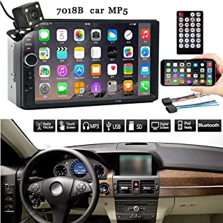 7 Inch Double 2 Din Screen Car MP5 Player Bluetooth Stereo FM Radio+Camera MP5 Auto Media Player Support Rear View Camera