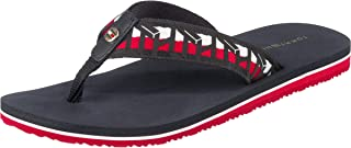 Tommy Hilfiger TH WEBBING FLAT BEACH, Women's Fashion Sandals