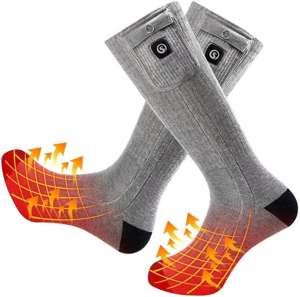 Heated Ranking TOP16 Socks for Online limited product Men Thermal Upgraded Women Heating