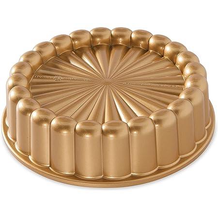 Nordic Ware 83577 Aluminium Charlotte Cake Pan, One Size, Gold