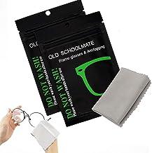 2 unidades, toallitas antivaho para mascarillas, paño desempañador de gamuza de limpieza reutilizable para gafas,Limpia Ga...
