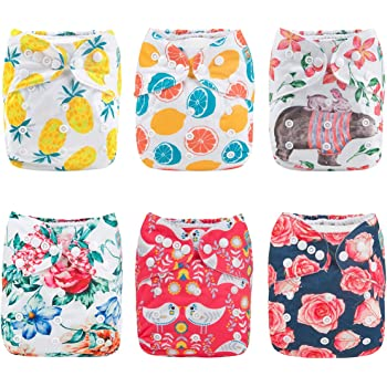 Alion Baby Reusable Absorbent Swimsuit Diaper 14 OS