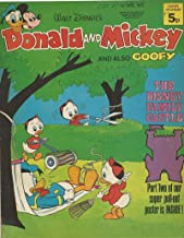 Donald & Mickey June 1 1974 British Lawn Mower Cover