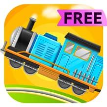 Train Builder - The Train Simulator Games for kids Free
