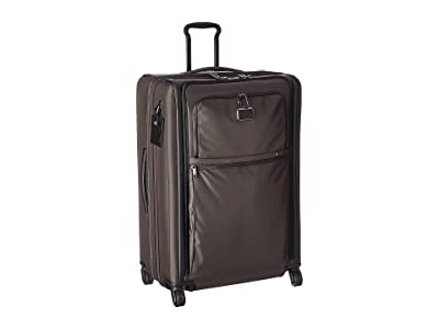 Tumi Alpha 3 Extended Trip Expandable 4 Wheeled Packing Case (Coffee) Luggage