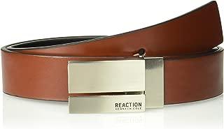 Men's Reversible Plaque Buckle Belt