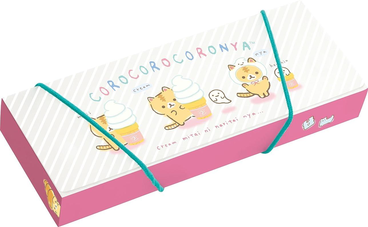 カレンダー心からコックサンエックス ころころコロニャ ペンケース ゴムバンド付 PY68801