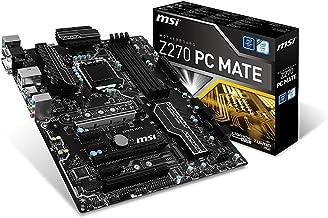 MSI Pro Series Intel Z270 DDR4 HDMI USB 3 CrossFire ATX Motherboard (Z270 PC MATE) (Renewed)
