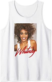 Whitney Houston Official Always Love You Portrait Tank Top