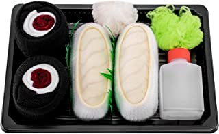 Rainbow Socks - Woman Man Sushi Socks Box Butterfish Tuna Maki - 2 Pairs