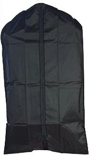 "Graduation Gown Bag Priest Robe Bag, Clergy & Vestment Garment Bag, Cassock/Albs Protection, Nylon, Black, Waterproof, XL! 72"" + 4"" Gusset, by Tuva Inc."