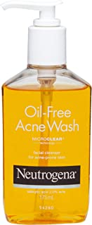 Neutrogena Oil Free Acne Face Wash, 175ml