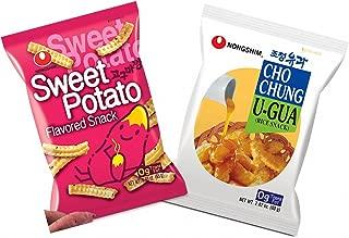 Nongshim Sweet Potato Snack, Cho Chung U-gua - Combo Pack (Pack of 2)