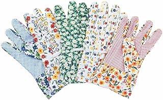 カラフル園芸手袋5双組(5柄アソート)