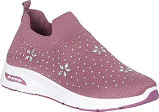 CENTRO Women Shoes - STEPPRO Brand Sports Slip-on Shoes for Women