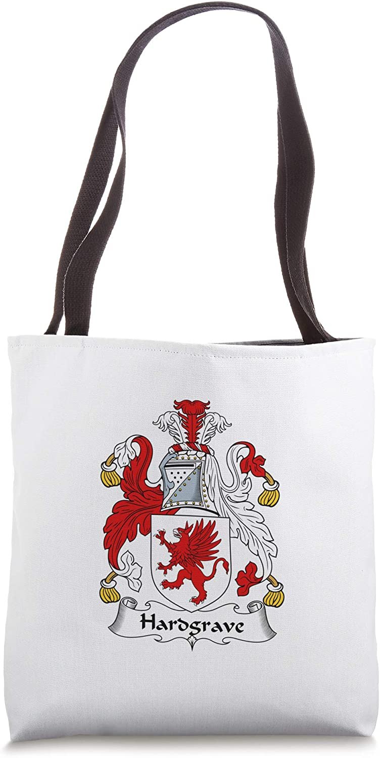 Hardgrave Coat of Arms - Family Crest Tote Bag