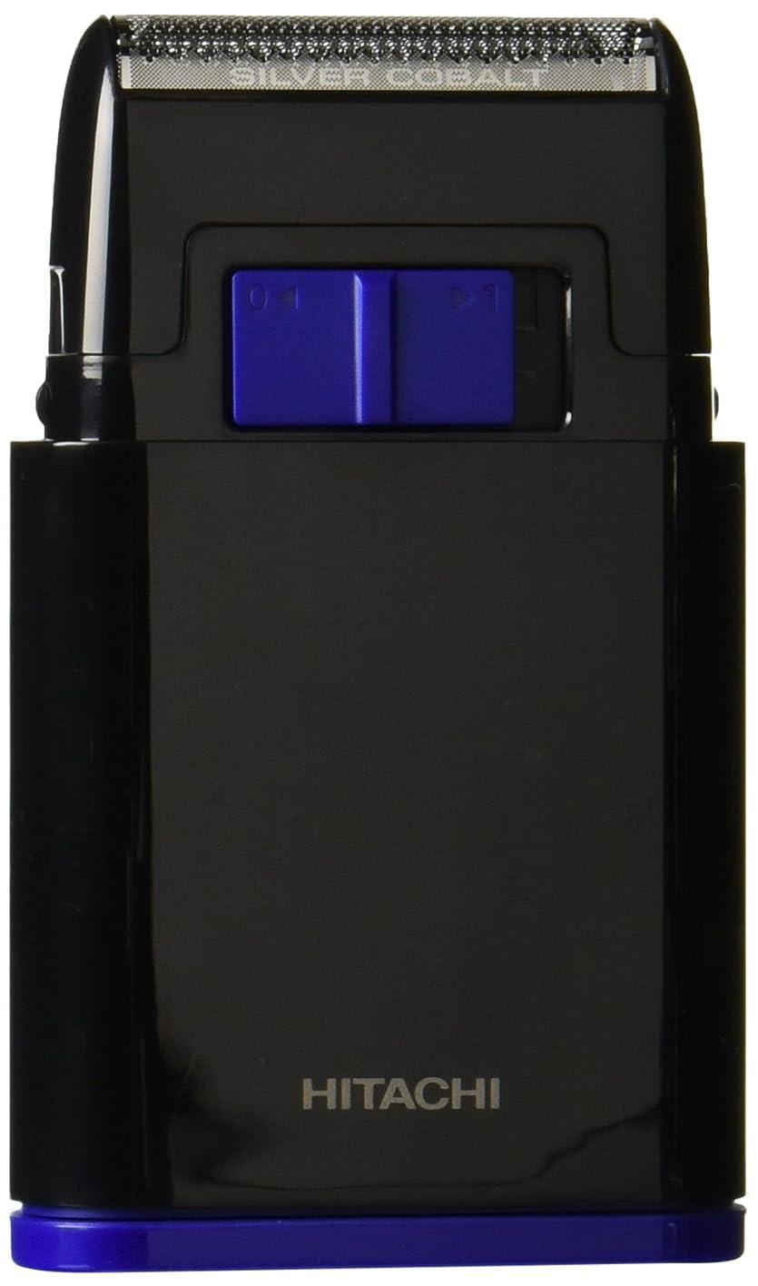 狂う洪水形成日立 メンズシェーバー 乾電池式シェーバー 1枚刃 携帯用 ブラック BM-S10-B