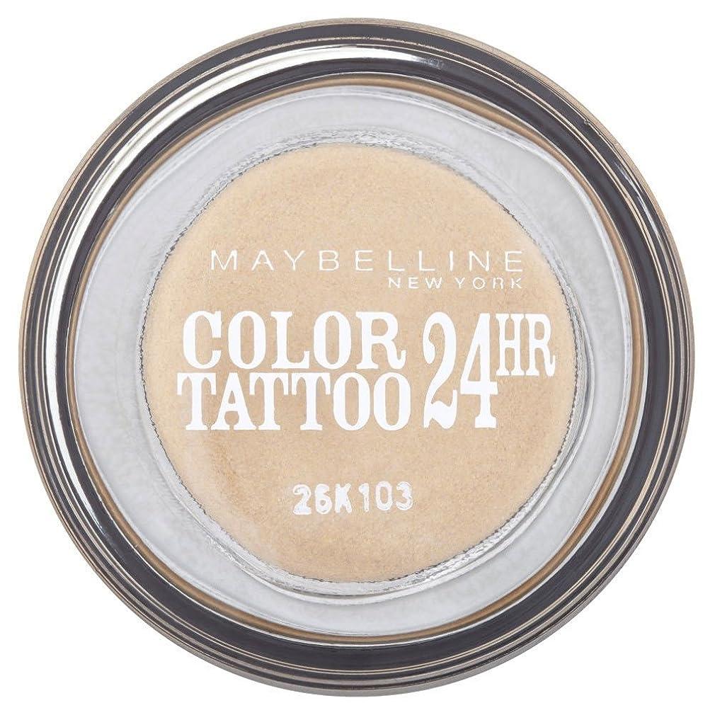 雑草キージェスチャーMaybelline Eye Studio Color Tattoo 24hr Eye Shadow - Eternal Gold メイベリンアイスタジオカラータトゥー24時間アイシャドウ - 永遠の金 [並行輸入品]