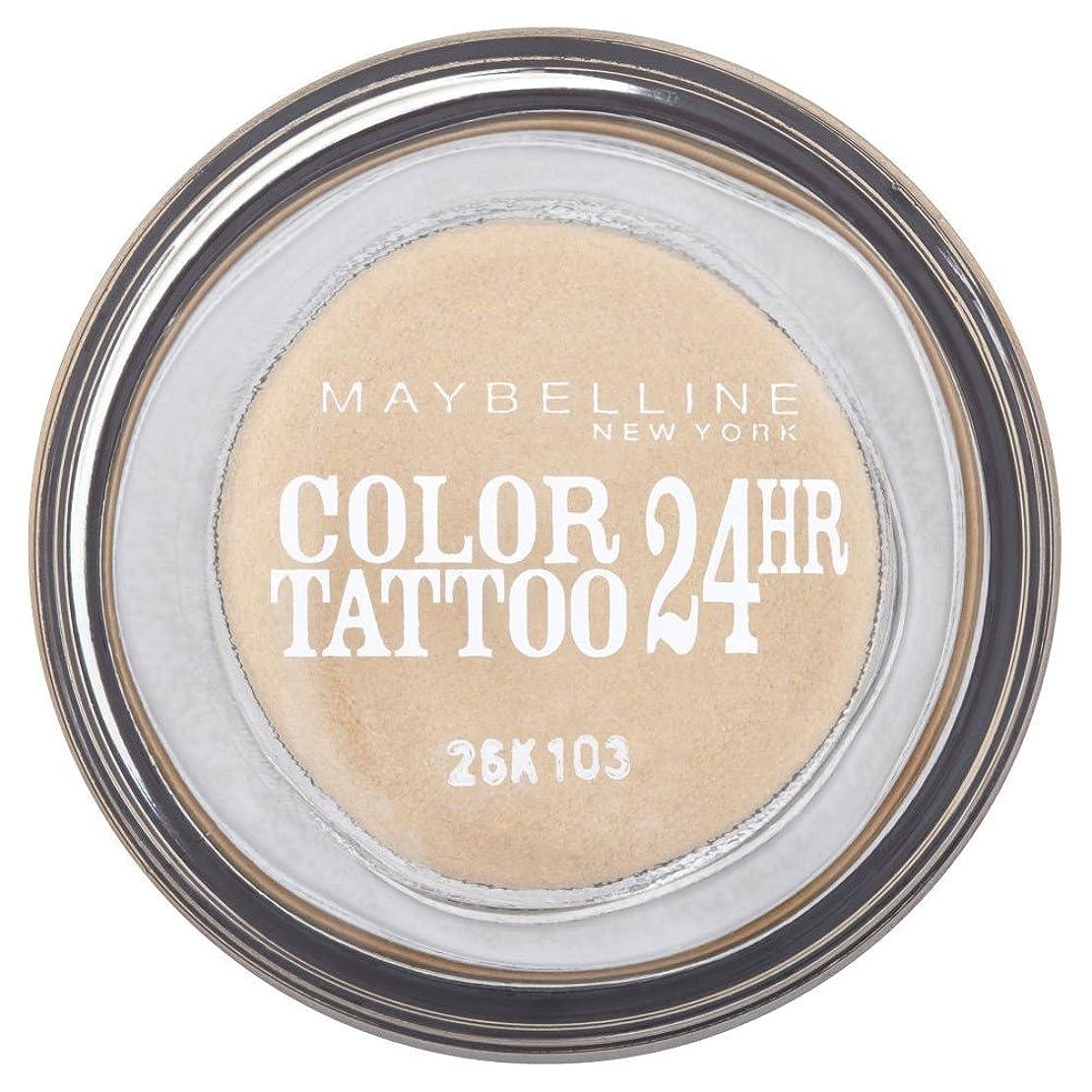 赤魔女歴史Maybelline Eye Studio Color Tattoo 24hr Eye Shadow - Eternal Gold メイベリンアイスタジオカラータトゥー24時間アイシャドウ - 永遠の金 [並行輸入品]