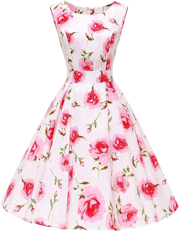 Dedication MAORR Wholesale Summer Sleeveless Retro Dress Dr Vintage 1950s Rockabilly