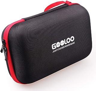 GOOLOO Portable EVA Travel Carring Protective Case for 12V Jump Starter Car Gadgets Tool Storage Box
