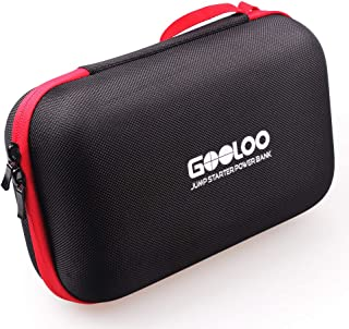 GOOLOO Portable EVA Travel Carring Protective Case for 12V Jump Starter Car Gadgets Tool Storage Box