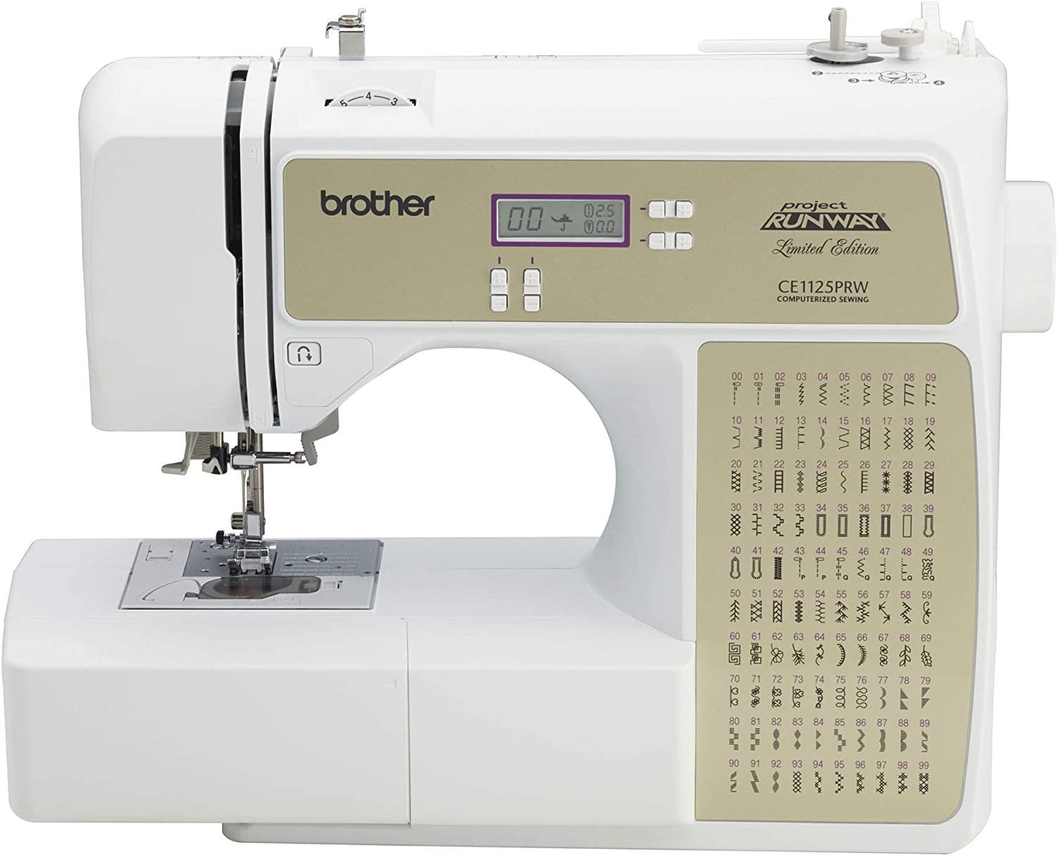 Brother Refurbished 100 Stitch Computerized Machine Sewing Super sale Fees free!! period limited whit