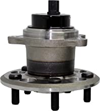 Detroit Axle - Brand New Rear Wheel Hub and Bearing Assembly 2004-2010 Toyota Sienna FWD 5 Bolt W/ABS 512280