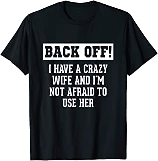 Funny Husband Gifts Marriage T Shirt