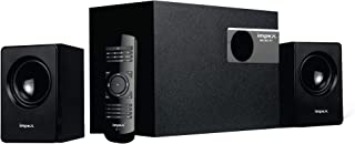 Impex 2.1 MICRO R1 20 W Portable Multimedia Bluetooth hometheater Speaker System (Black)