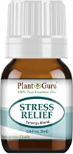 Stress Relief Blend Essential Oil 5 ml 100% Pure, Undiluted, Therapeutic Grade. (Bergamot, Patchouli, Sweet Orange, Ylang ylang, Pink Grapefruit, Gurjum) Sample Size