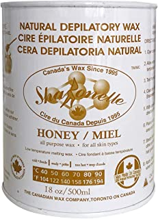 Sharonelle Soft Wax All Purpose Natural Depilatory Canned Wax (1 pcs, Honey)