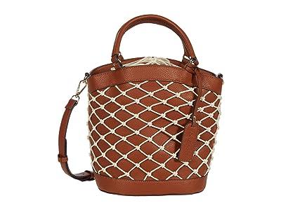 SOLE / SOCIETY Jubah Satchel (Cognac) Handbags