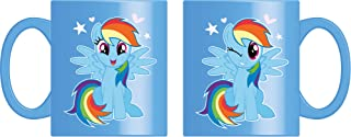 Joy Toy 95771 My Little Ponny Rainbow Dash keramikmugg 320 ml presentförpackning, 12 x 9 x 10 cm, 1 styck (1-pack)