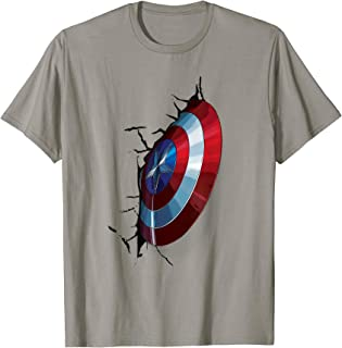 Marvel Avengers Age of Ultron Captain America Shield T-Shirt