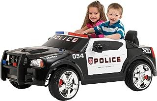KidTrax Dodge Pursuit Police Car 12-Volt Battery Power Electric Ride-On| KT1081i
