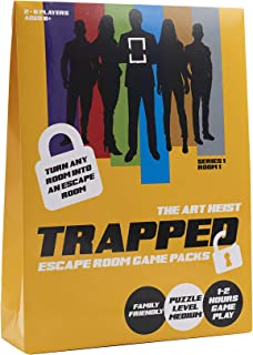 Trapped AH001 Escape Room Game Pack
