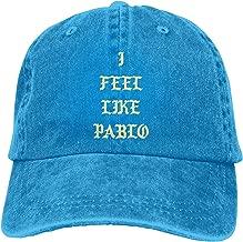 I Feel Like Pablo Adult Vintage Washed Denim Adjustable Baseball Cap