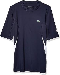 Lacoste Mens Sport Novak Short Sleeve Ultra Dry Stretch Jersey T-Shirt