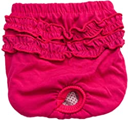 HN Pet Magasin Reusable Dog Diapers, Dog Physiological Pants Pet Underwear Shorts Diapers