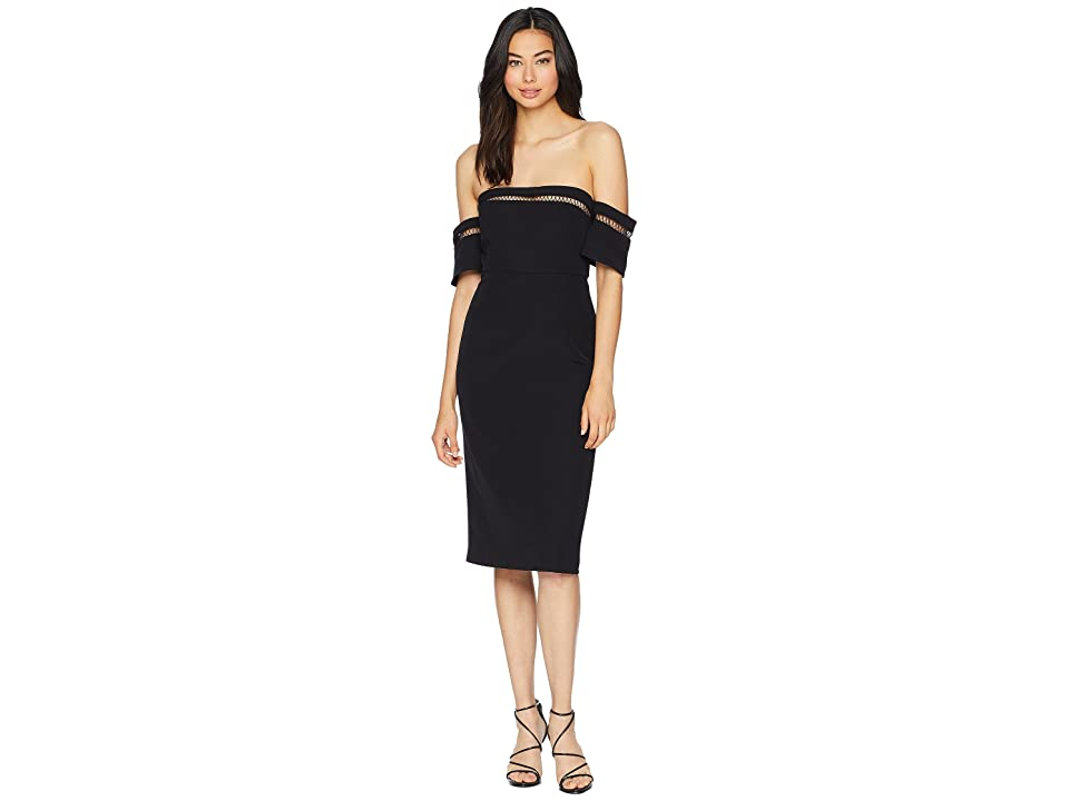 Bardot Sacha Trim Dress (Black) Women