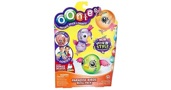 Oonies S4 REG Theme Refill PK Paradise Birds