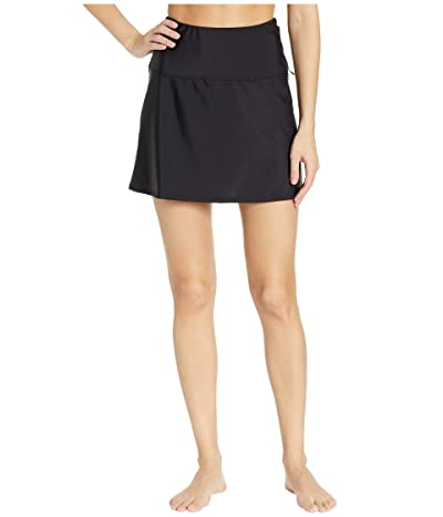 Miraclesuit Fit and Flair Swim Skirt (Black) Women