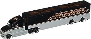 Maisto 1: 64 Harley-Davidson Hauler ثنائي الطبقات مع عربات لصق مخصصة