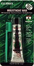 Clubman Moustache Wax Neutral 0.50 oz (Pack of 4)