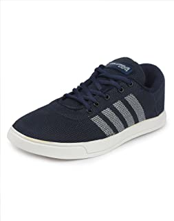 Columbus TB-5007 Mesh Sneaker Multi Purpose Casual Shoes for Men (10 UK, NBlueWhite)