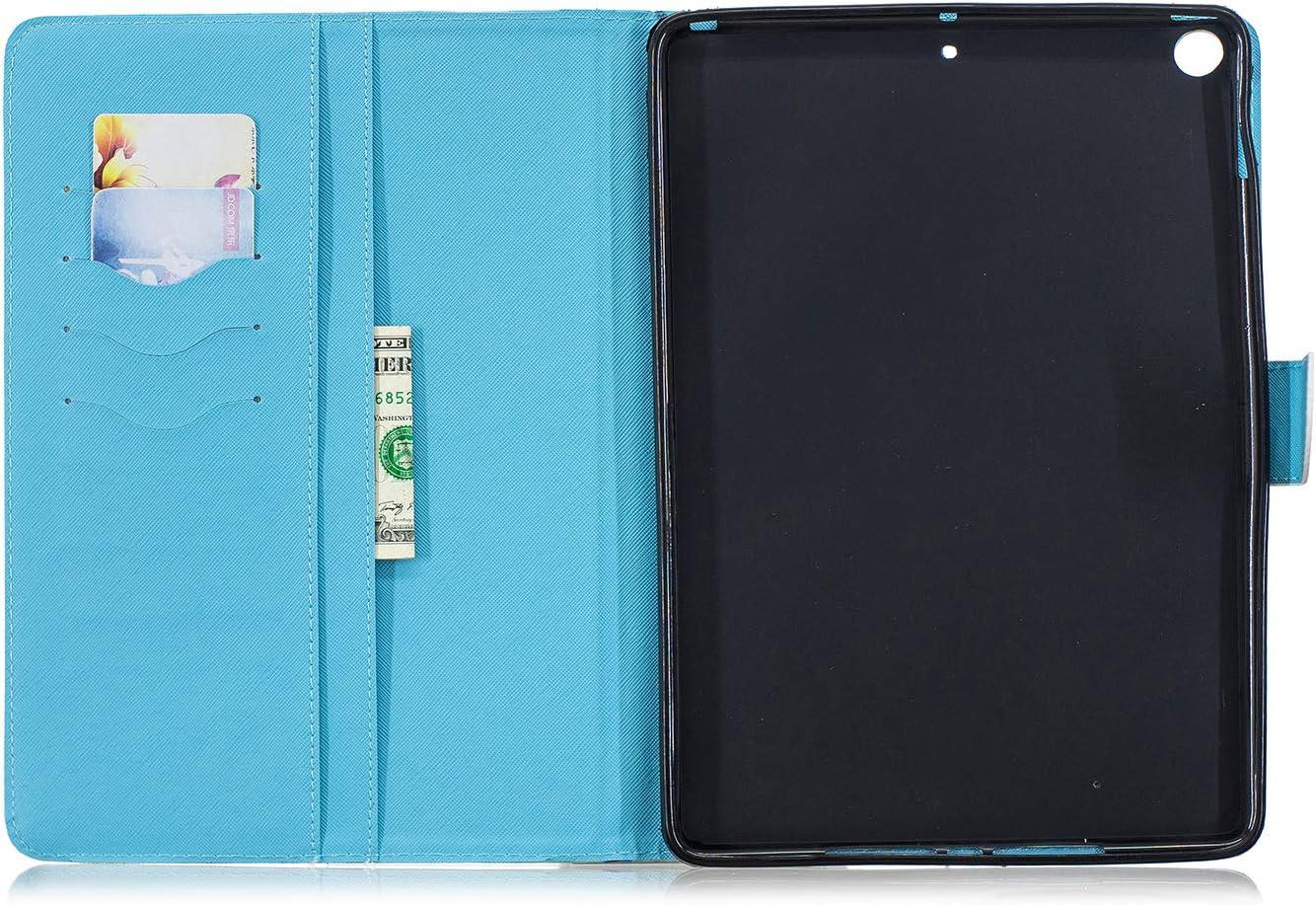 Protettiva Custodia in Pelle e iPad iPad iPad Air 2 2017 Supporta Funzione Auto Sveglia//Sonno 2018 con Funzione di Stand Flip Copertina Case Cover Tasca Hious Custodia per iPad Air