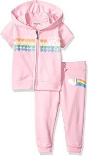 Juicy Couture Baby Girls 2 Pieces Pants Set with Hoody