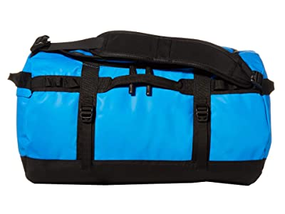 The North Face Base Camp Duffel Small (Clear Lake Blue/TNF Black) Duffel Bags